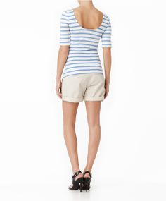 Gina Tricot Gisele top - nautical top with a ballet top twist