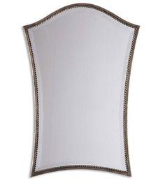 Uttermost Sergio Vanity Mirror in Lightly Antiqued Silver Leaf 13585-B #lighting