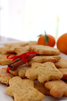 Biscuit Cookies, Biscuit Recipe, Desserts With Biscuits, Vol Au Vent, Kinds Of Cookies, Christmas Desserts, Orange, Cake Recipes, Food And Drink