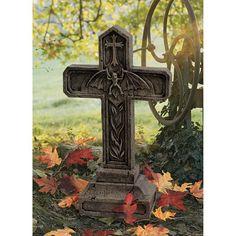 Design Toscano Balkan Vampire Blood Cross Statue | from hayneedle.com