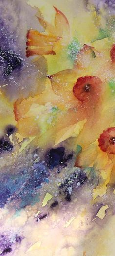 A passion for life,nature and watercolour shared in harmony throughout the seasons.