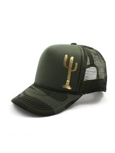 ALOLA MAUI Camo CACTUS Hat Sold exclusively on The Lucky Honey