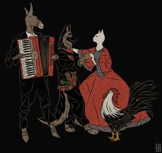 We Are Going To Bremen To Be Musicians | Tin Can Forest