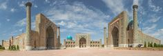 "The Registan in Samarkand Go to http://iBoatCity.com and use code PINTEREST for free shipping on your first order! (Lower 48 USA Only). Sign up for our email newsletter to get your free guide: ""Boat Buyer's Guide for Beginners."""