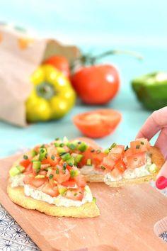 Mini pizza vegan et sans gluten aux légumes de printemps www.sweetandsour.fr