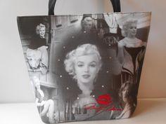Marilyn Monroe Purse Marilyn Tote Bag by LittleBitsofGlamour, $30.00