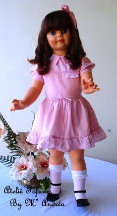 Boneca Amiguinha - Década de 80, modelo lançado em 1982.... Toda original de fábrica!!!
