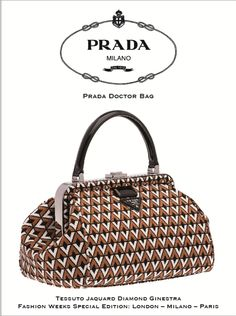 PRADA, doctor's bag,  special  edition