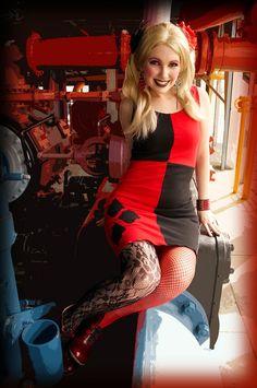 Handmade Cosplay Dresses - Harley Quinn