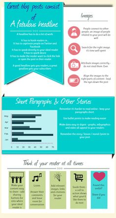 What Makes a Great Blog Post? [Infographic] – For Bloggers By Bloggers