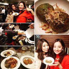 2016/11/22 23:11:20 ayana_maki 美容&健康重視の たこ焼きレセプションパーティーへ♡ たくさん食べたけど、まだまだイケる感じ笑 オススメは モリンガ豆乳たこ焼きの塩味です^_^ #どないや #たこ焼き #モリンガ #美容 #健康 #アパホテル #ホテルのレストランで #たこ焼きパーティー #ごちそうさまでした  #健康