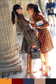 Inspiração do Dia: vestidos estampados