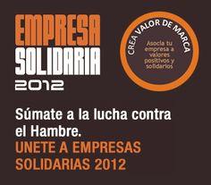 Empresa #Solidaria 2012: súmate a la lucha contra el #hambre