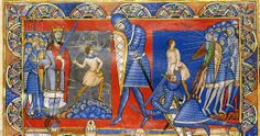 Winchester Bible 1160, David and Goliath
