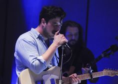 Marcus Mumford and the New Basement Tapes Take 'Ellen' to 'Kansas City', love seeing him playing this particular guitar!! sexy!!