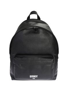 GIVENCHY LEATHER BACKPACK. #givenchy #bags #leather #lining #canvas #backpacks #cotton #