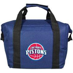 NBA Detroit Pistons 12-Pack Kooler Bag, Blue