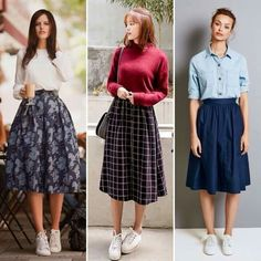 New vintage style fashion tights ideas Moda Vintage, Vintage Skirt, Modest Outfits, Skirt Outfits, Cool Outfits, Casual Outfits, Long Skirt Fashion, Modest Fashion, Fashion Outfits