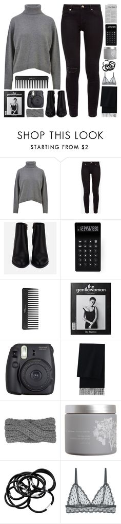 """i wanna let go but there's comfort in the panic"" by megan-vanwinkle ❤ liked on Polyvore featuring Dolce&Gabbana, Ted Baker, Alexander Wang, LEXON, Sephora Collection, Fuji, Uniqlo, red flower, H&M and Cosabella"