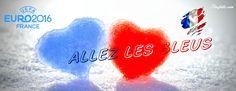Couvertures Facebook Euro 2016 et supporters France - Finefolie