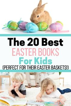 Looking for Easter basket ideas for your kids? Check out this list of the best children's Easter books. With a mix of old favorites and new trendy Easter stories, they'll have fun reading them again and again! Easter Activities, Spring Activities, Holiday Activities, Infant Activities, Activities For Kids, Easter Baskets For Toddlers, Easter Gifts For Kids, Easter Crafts, Crafts For Kids