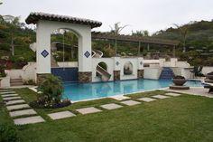 Mediterranean Family Playground mediterranean-pool