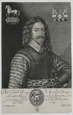 Sir Edward Dering, 1st Bt (1598-1644), English antiquary and politician. At the opening of the Civil War, Dering raised a regiment of cavalry for the King.