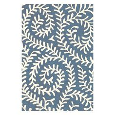 Dash and Albert Rugs Tufted Blue Area Rug Rug Size: 10' x 14'