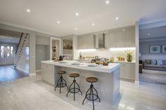 World of Style: Classic Hamptons - Porter Davis Homes. Island bench