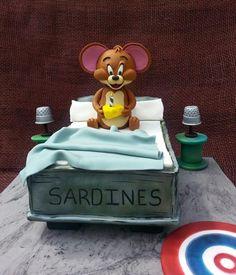 Jerry - Cake by Sugarwhizz