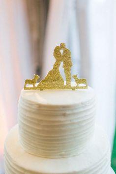 Los muñecos más originales para decorar el pastel de bodas: Un detalle must Image: 12