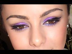 Purple Springtime Party Makeup! ♥