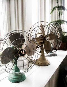 Colecciones: ventiladores antiguos