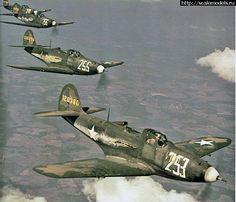 A P-39 Airacobra squadron