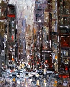 New York City Painting.
