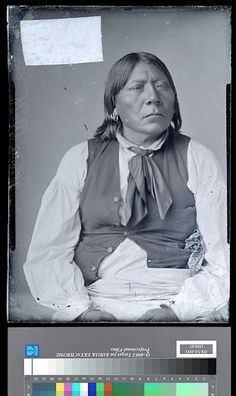 Esa Rosa (aka White Wolf), brother-in-law of Tabananica - Kwahadi Comanche - circa 1890