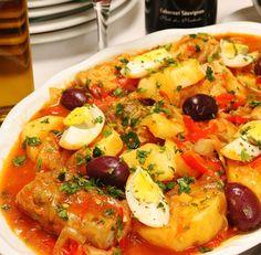 receita de bacalhau com batatas