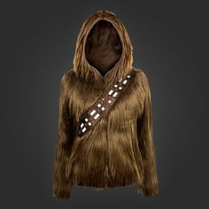 La felpa Chewbecca per gli amanti di Star Wars è finalmente realtà! #starwars #geek