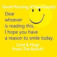 Good Morning! #TeamGaydy #lgbt #NOH8 #FCKH8