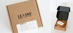 le labo grasse new york Kraft Box Packaging, Dessert Packaging, Perfume Packaging, Cool Packaging, Candle Packaging, Food Packaging Design, Packaging Design Inspiration, Jewelry Packaging, Label Design