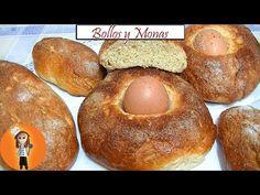 Bollos y Monas de Pascua   Receta de Cocina en Familia - YouTube