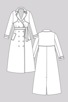 Isla Trench Coat - Named