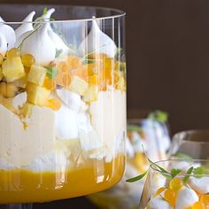 Try this Summer Trifle with Tropical Fruits recipe.