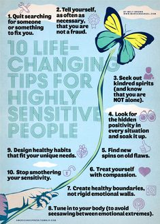 10 Life-Changing Tips for Highly Sensitive PeopleBy Angel Chernoff, Co-Founder, marcandangelRead more here.MarcAndAngel.com is a regular paid contributor to the American Express Tumblr community.