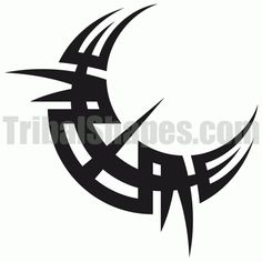 Image result for tribal moon tattoos