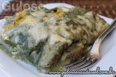 Para o #jantar de domingo temos a Lasanha Integral ao Molho Verde, é super saborosa e não sai da dieta!!  #Receita aqui: http://www.gulosoesaudavel.com.br/2015/01/16/lasanha-integral-molho-verde/