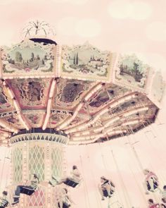 pink nursery art carnival photography mint green von TheGinghamOwl,