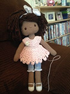Crochet Doll, Amigurumi Doll, My Crochet Doll, UC Davis Children Center Doll 2