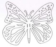 Model papallona per fer tapa B7.