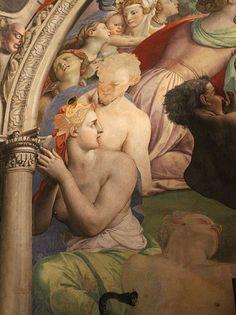Bronzino,(1540-1545), fresco,Palazzo Vecchio Museum Level Second floor,room Chapel of Eleonora of Toledo.detail.